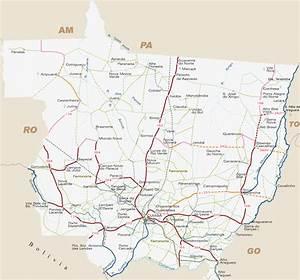 Mapas do Mato Grosso - MapasBlog