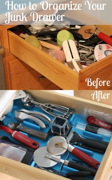 Kitchen Utensil And Drawer Organizing  I Heart Planners