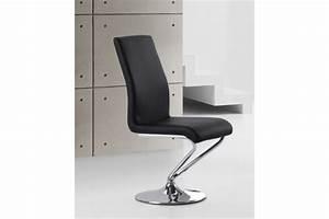 Chaise design turn assise pivotante blanc noir chaises for Meuble salle À manger avec acheter chaise design
