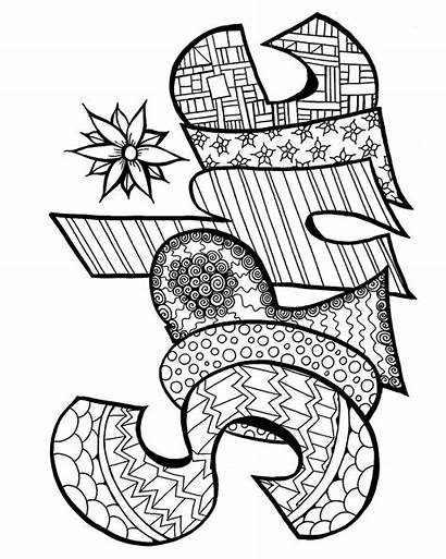 Coloring Pages Printable Sophie Zentangle Adult Adults