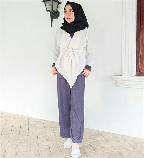 Wanita Dewasa Dalam Islam 18 Model Baju Muslim Remaja 2018 Terbaru Stylish Casual