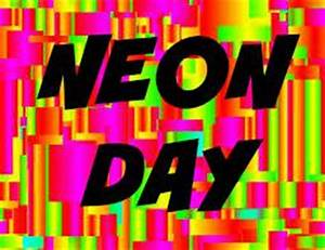 Image Gallery Neon Day