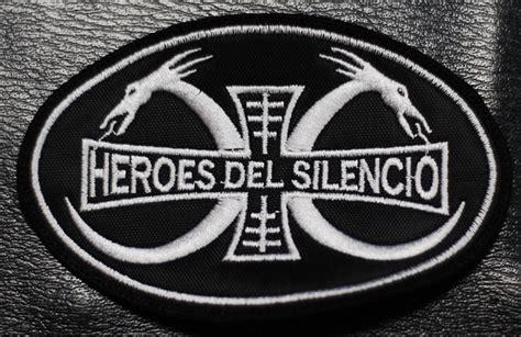 heroes del silencio dragon logo  embroidered patch