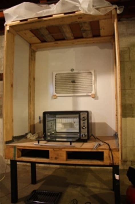 homemade powder coating booth