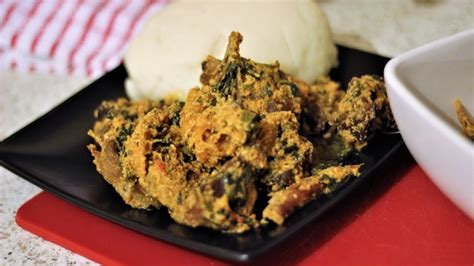 cook egusi soup nigerian food channel youtube