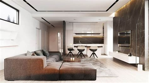 2 Masculine Interiors In Shades Of Grey Black And Brown by 3215 Best Living Room Designs Images On Living