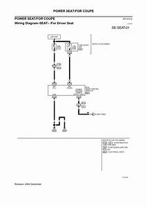 2005 Nissan Maxima Power Seat Wiring Diagram