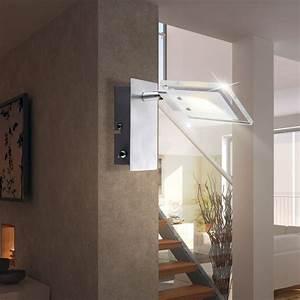 Esszimmer Lampe Led : 5w led wandleuchte wohnzimmer esszimmer lampe leuchte aluminium globo aurele 56204 1 kaufen ~ Markanthonyermac.com Haus und Dekorationen