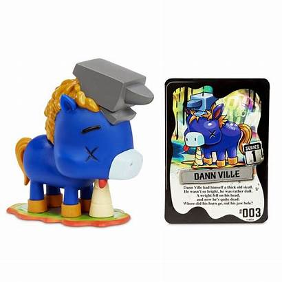 Unicorn Messed Gnarly Character Toys Rainbows Dann