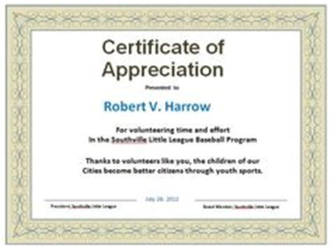 partnership certificate  appreciation template