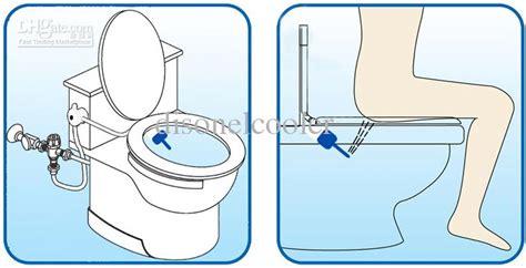 Bidet Attachment For Toilet Bowls
