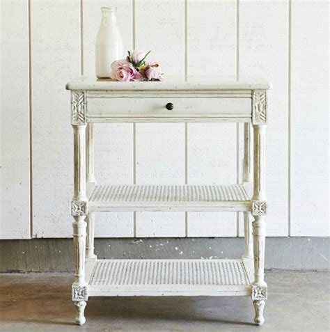 shabby chic side table best furniture for a shabby chic living room