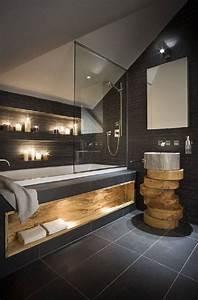 tendances wc With carrelage adhesif salle de bain avec lumiere led change couleur
