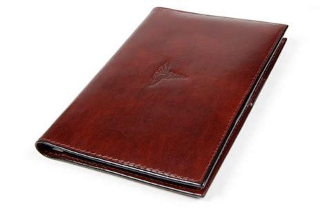 prescription pad  leather office bosca