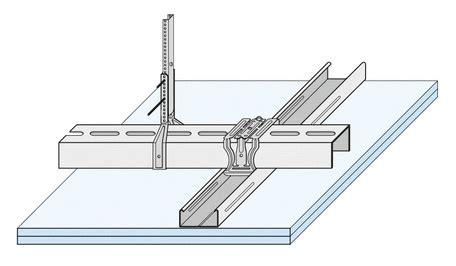 decke abhängen metallunterkonstruktion trockenbau decke plattendecke andere varianten