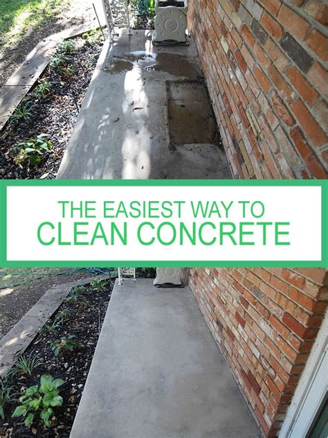 How To Clean Cement Porch by How To Clean Concrete The Easy Way Porches Patios