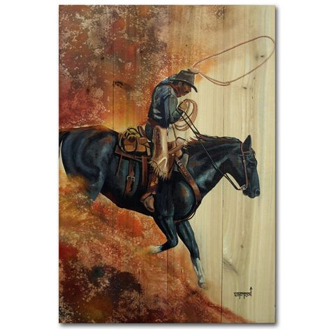 Hell Bent For Leather Wood Wall Art