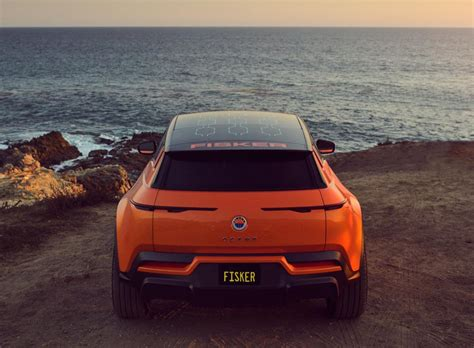 Fisker Ties Up With Magna To Build Its Electric Ocean SUV