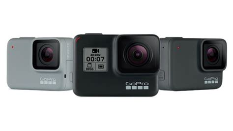 gopro hero black silver white editions launched