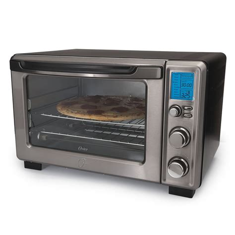 White Digital Toaster Oven by Oster 174 Black Stainless Collection Digital Toaster Oven