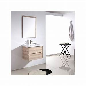 sd070 600 meuble salle de bain coloris beige rose With meuble salle de bain rose