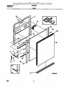 Frigidaire 5304442173 Dishwasher Door Latch Kit