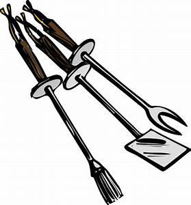 Bbq Grilling Tools Clip Art at Clker.com - vector clip art ...
