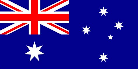 flag  australia coloring page print color fun