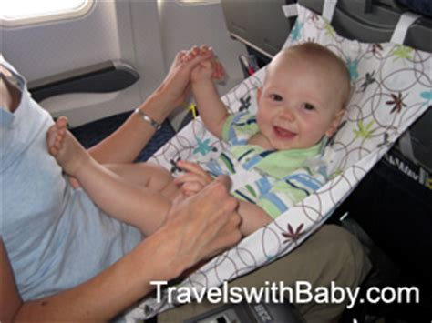 Baby Flight Hammock by Review Of Flyebaby Airplane Hammock Travelswithbaby