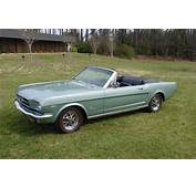 1965 Silver Smoke Gray Mustang Convertible K Code 289