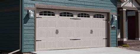 insulated garage door thermacore 174 steel garage doors