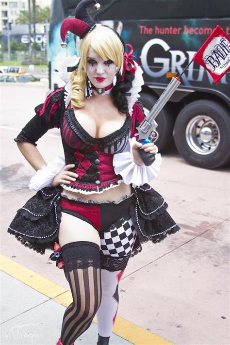 Harley Quinn Punk Costume And Jester Hat On Pinterest
