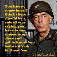 M.A.S.H. it up ... Colonel Potter Quotes