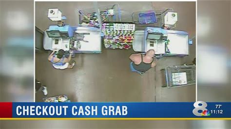 Police Look For Self-checkout Thieves Who Stole