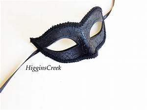 Mens Masquerade Mask Black Masquerade Mask Masquerade Ball