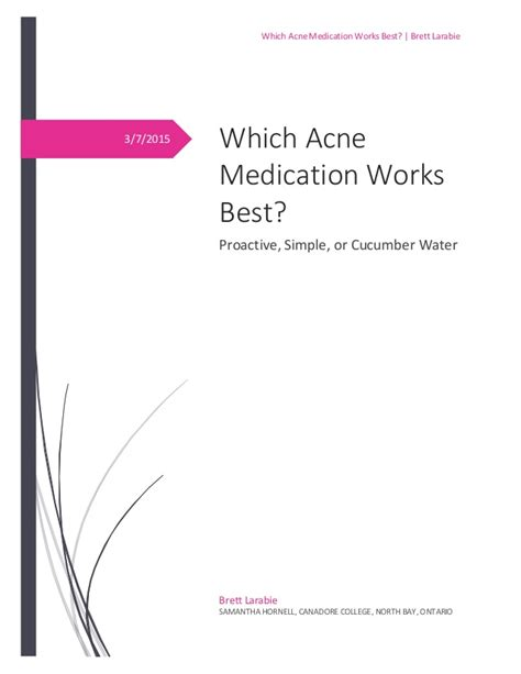 Best Acne Medication Which Acne Medication Works Best