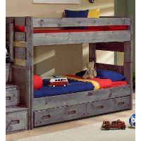 Rc Willey Bunk Beds by Fort Driftwood Rustic Bunk Bed Rc Willey
