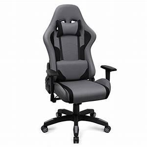 Gaming Stuhl Stoff : gaming stuhl racing b rostuhl stoff ergonomischer computerstuhl drehstuhl mit hoher ~ Buech-reservation.com Haus und Dekorationen