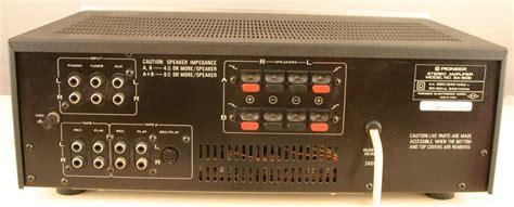 pioneer sa 508 sold pioneer sa 508 integrated lifier oldstep