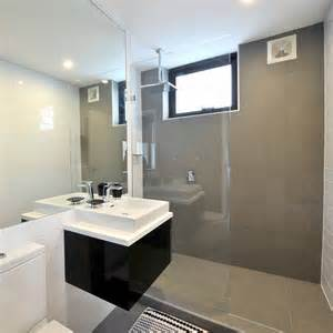 bathroom feature tile ideas bec george challenge 2 floors feature wall stratos dark grey natural walls gloss white