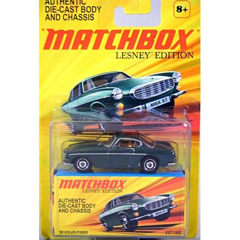 matchbox lesney edition volvo ps sports car global