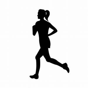 Jogging PNG Black And White Transparent Jogging Black And ...