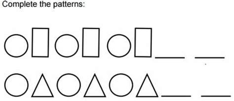Ab Patterns Worksheet  Educational Resources And More