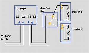 240v Electric Baseboard Heat Wiring Diagram - Electrical