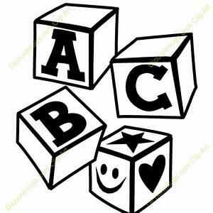 Abc Blocks Clipart - Clipart Bay
