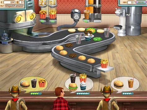 jeux de cuisine burger restaurant jeu burger shop à télécharger en français gratuit jouer