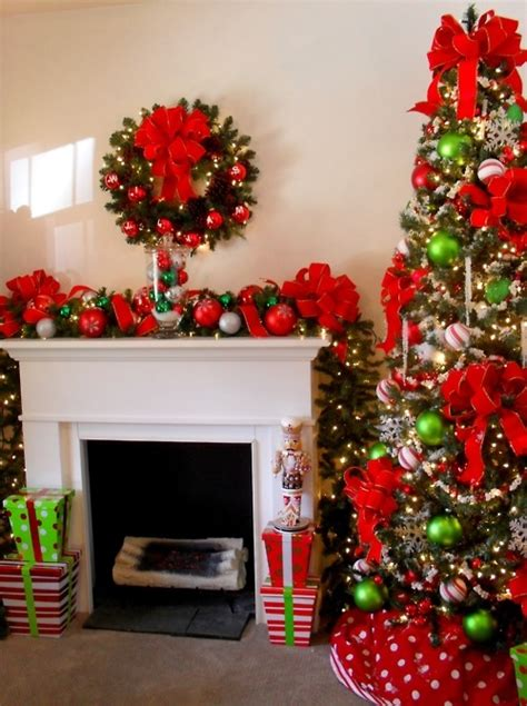 christmas decoration   living room pictures