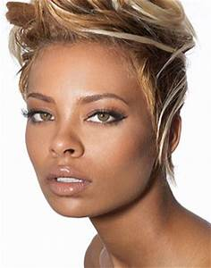 Eva Marcille Short Chic Hairstyle - thirstyroots.com ...
