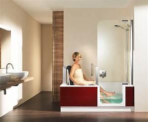 Sitzbadewanne Mit Dusche : barrierefrei duschen baden artweger ~ Frokenaadalensverden.com Haus und Dekorationen