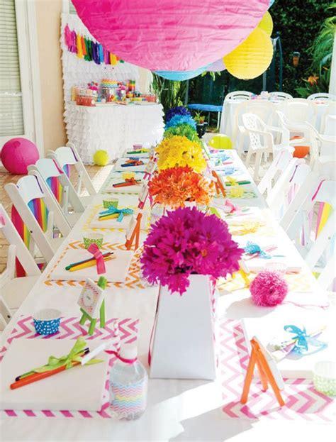 rocking  color wheel pride party decor